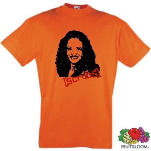 world-of-shirt Herren T-Shirt Scrubs Carla Espinosa Die Anfänger Orange