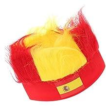 Fish Coppa del Mondo di Gioco Calcio Spagna Fans cappelli con pezzo parrucca Ployester Calcio fascia dei capelli di Headwear
