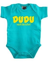 Dudu - Macht das schon Babybody 56 - 80 div. Farben