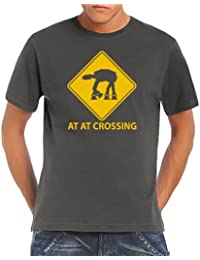 AT AT Crossing T-Shirt S-5XL div. Farben