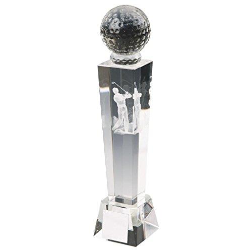 170mm Crystal Tower Golf Trophy, Award, gratis Gravur (t9438) wanderfeldröhre