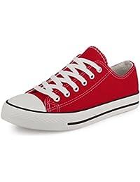 suchergebnis auf f r rote sneaker damen schuhe schuhe handtaschen. Black Bedroom Furniture Sets. Home Design Ideas