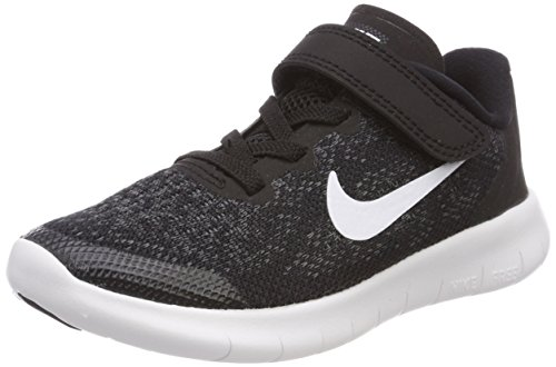 new style 7721a 819fc Nike Free RN 2017 (PSV), Boys  Training Shoes, Black (Black