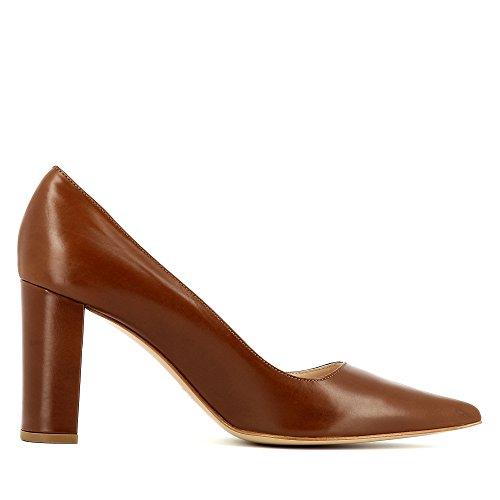 Evita Shoes Jessica, Scarpe col tacco donna Marrone