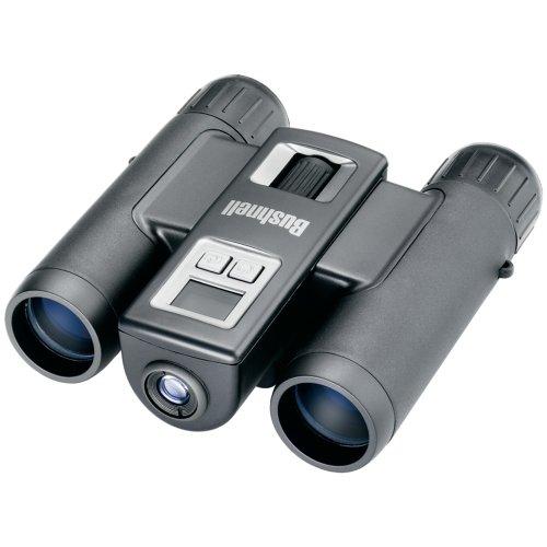 Bushnell 10x25 Image View - Prismático con cámara, SD