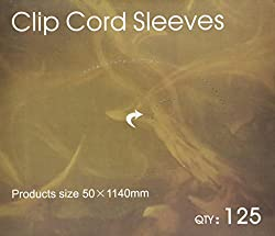 125 Tattoo Clip Cord Disposable Individual Cover Bags Clean Barrier Supply 2 x 45