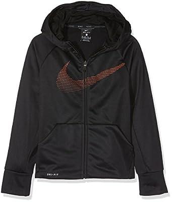 Nike Jungen Therma Kapuzenjacke
