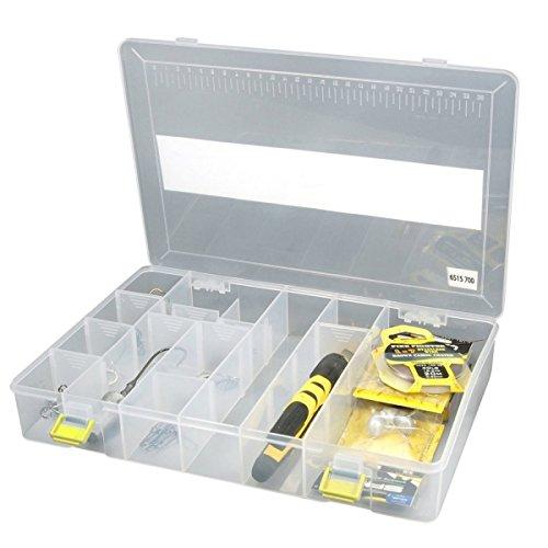 Spro Tackle Box 31,5x21,5x5cm - Kunstköderbox für Spinner, Blinker & Wobbler, Köderbox für Gummifische, Angelbox, Tacklebox