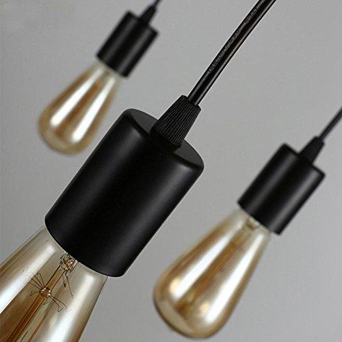 GBT Kronleuchter Modern Chic Industrielle Mahlzeit Licht Einstellbare Diy Decke Spinne Lichter Kronleuchter 8 Lampenadapter Keine Glühbirne (Led-Leuchten, Warmes Licht, Weißes Licht, Kronleuchter, Innenbeleuchtung, Außenleuchten, (Warme Diy Kostüme)
