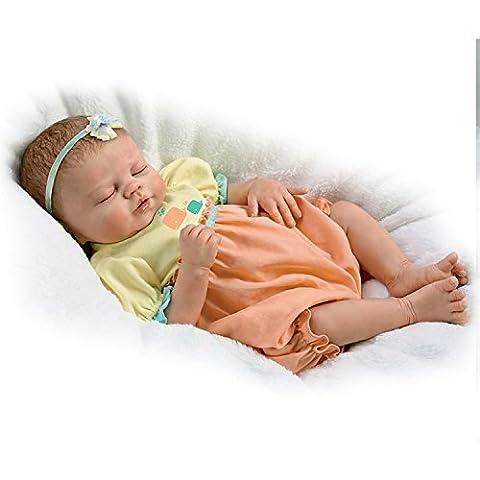 Violett Parker, so Truly Real lebensecht Baby Mädchen Puppe gewichtet für Realismus von der Ashton Drake Galleries