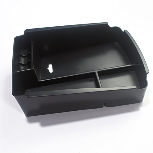 Interior de plástico Apoyabrazos Caja de almacenamiento organizador soporte para MIC 1pcs para coche accesorios Kasr