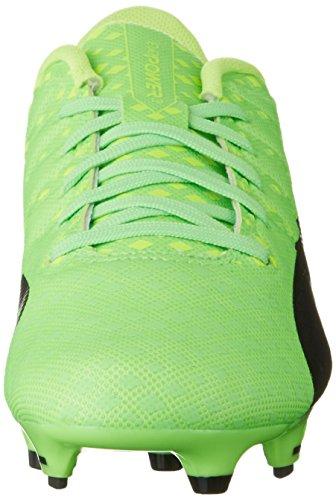 Puma Herren Evopower Vigor 3 Fg Fußballschuhe Grün (green gecko-puma black-safety yellow 01)