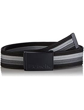Bench 3 Colour Stripe Belt, Cinturón para Hombre, Mehrfarbig (Black Beauty BK11179), 120