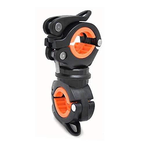 Preisvergleich Produktbild Universal Fahrrad Taschenlampe Clip 360 ° Rotation Fahrrad Lampe Halterung Halter