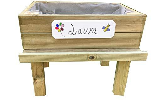 AD servicios Mesa Cultivo huerto Urbano Kit Infantil