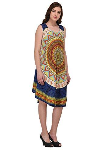 Nakoda-Creation-Womens-Rayon-Rajasthani-Block-Print-Traditional-Balloon-A-line-Umbrella-Cut-Midi-DressMulticolorFree-Size
