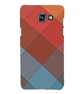 EPICCASE squares Mobile Back Case Cover For Samsung Galaxy A3 (Designer Case)
