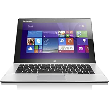Lenovo MIIX2-11 29,5 cm (11,6 Zoll FHD LED) Convertible Tablet-PC (Intel Core i5 4202Y, 2,0 GHz, 4GB RAM, 256GB SSD, Intel HD Graphics 4200, Touchscreen, 3G/UMTS, Win 8.1) silber