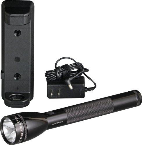 Mag-Lite ML125-35014F wiederaufladbare LED Taschenlampe bis zu 193 Lumen inkl. elektron. Multifunktionsschalter und NiMH-Akku