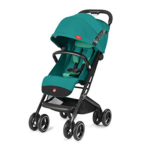gb Gold Buggy Qbit+ All Terrain, Luxus Traveller, 3-in-1 Reisesystem, Ab Geburt bis 17 kg (ca. 4 Jahre), Laguna Blue