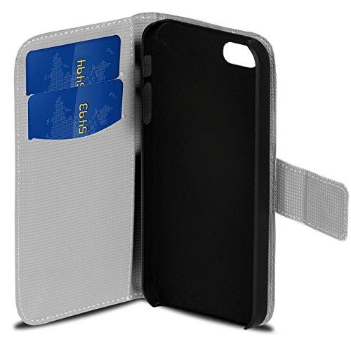 iPhone 6s Plus, 6 Plus Muster Hülle, Conie Mobile Handytasche Bookstyle Schutzhülle Motiv Bilderhülle Wallet Tasche, PU Leder Tasche Motiv 12