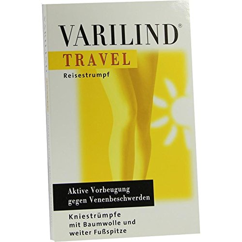 VARILIND Travel 180den AD S BW blau 2 St