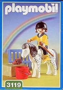Playmobil - 3119 - La Vie à la ferme - Enfant / Poney