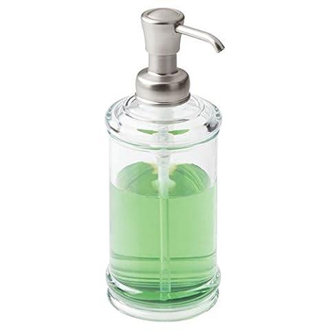 mDesign porte savon rechargeable ? distributeur de savon raffiné avec