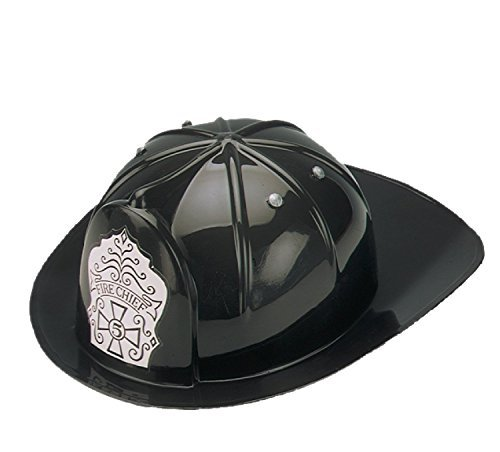 Black Fire Hat (Jacobson Hat Company Child's Black Fire Chief Hat by Jacobson Hat Company)