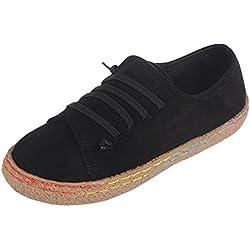 ❤️ Botas Planas Suaves de Las Mujeres, Zapatos de Gamuza del Tobillo de Las señoras del Cuero del Ante Femeninos Botas con Cordones Femeninas Absolute