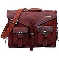 Urbankrafted Schöne handgemachte Männer Distressed Leder Messenger Laptop-Tasche Schultertasche