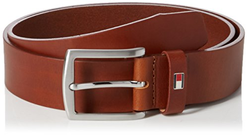 Tommy Hilfiger New Denton 3.5 Belt, Ceinture Homme, Marron (DARK TAN 257), 85 cm (Taille Fabricant: 85)