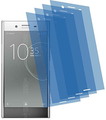 4x Crystal clear klar Schutzfolie für Sony Xperia XZ Premium Displayschutzfolie...