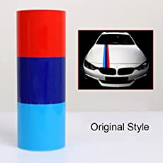S2S Car Styling Stickers German Italy Flag Car Stickers Vinyl Decal Waterproof 1 Meter*15cm (Orginal)