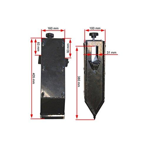 ATIKA Ersatzteil - Spaltkeilverlängerung für Brennholzspalter ASP *NEU*