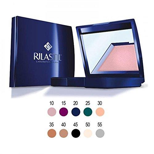 3g-15 Satin (Rilastil Maquillage Lidschatten Pulver Satin Farbe 153g)
