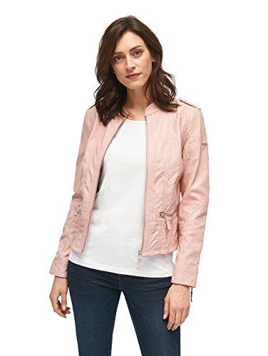 TOM TAILOR für Frauen Jacket Jacke in Leder-Optik twinkle pink XXL