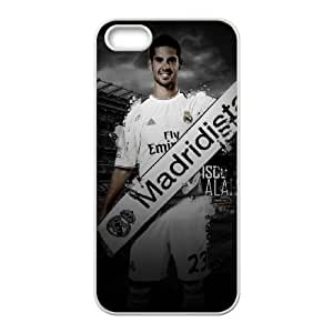 Isco Alarcón Real Madrid Wallpaper iPhone 5 5S Cell Phone Case White Cell Phone Case Cover EEECBCAAK71201