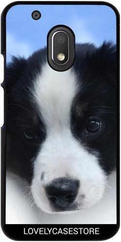 Custodia per Lenovo (Motorola) Moto G4 Play - Cucciolo di cane pastore australiano Cane Cane (Australiano Moto)