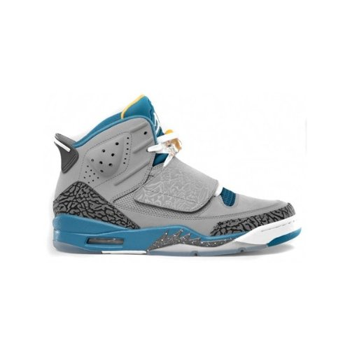 Air jordan son of mars grey blue gold
