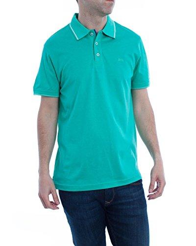 Polo McGregor Jens Solid Basic Verde M Verde