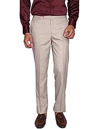 Matalino Slim Fit Men's Beige Trousers