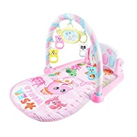 mAjglgE Infant Baby Pedal Piano Play Mat Cushion Gym Blanket Fitness Bodybuilding Frame