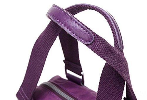 Segeltuchbeutel-Schulterbeutel-Spielraum-Damenhandtasche Kleiner Beutel Red