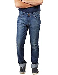 Numero Uno Blue Low Rise Slim Fit Jeans(Morice Fit) - B06XRF2YB2