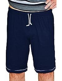1e745f7c0f84 Ammann - Herren Pyjama Hose kurz ( Bermuda ), nightblue (nachtblau)