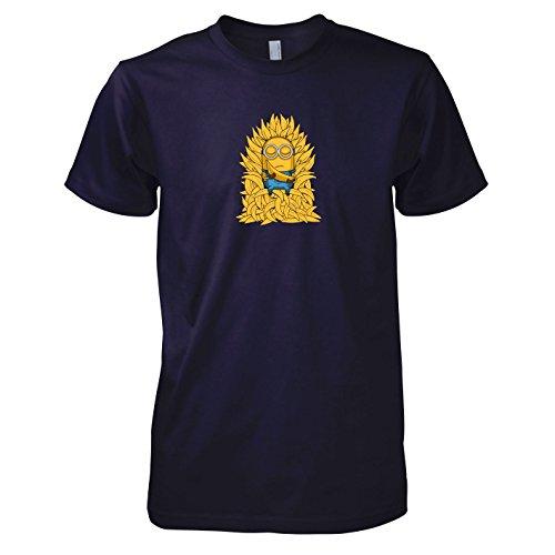 TEXLAB - Banana Throne - Herren T-Shirt Navy