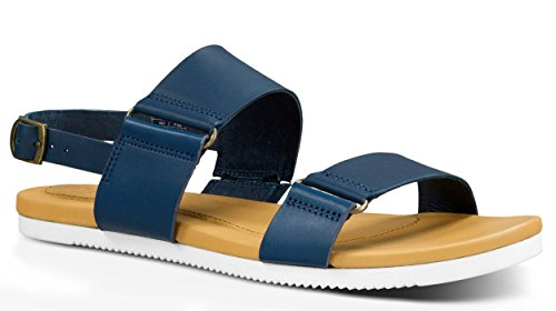 Teva - Avalina Sandal Leather - Women ( 11) Navy