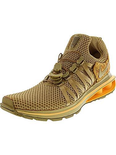 NIKE Womens Shox Gravity Metallic Gold Running Shoe AQ8854-700 (7 B(M) US) (Shox Womens Shoes)