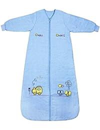 Schlummersack Ganzjahres Babyschlafsack mit langen Ärmeln in 2.5 Tog - erhältlich in verschiedenen Größen und Designs für Jungen und Mädchen